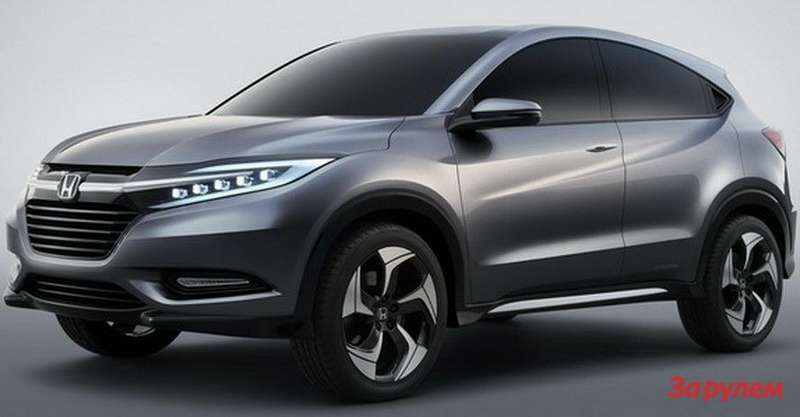 Honda Urban SUV Concept side-front view