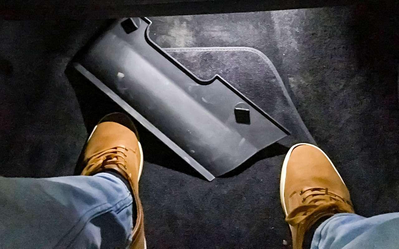 Автомобиль спрозрачным капотом— тест ЗР— фото 939335