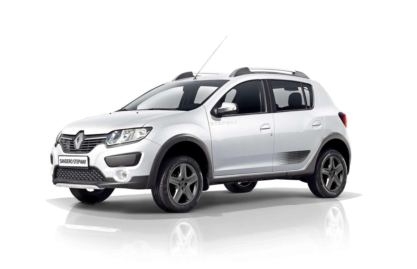 Renault Sandero Stepway получил вРоссии спецверсию— фото 796424