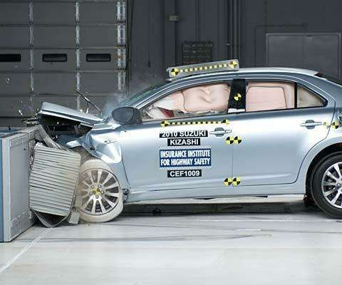 Suzuki Kizashi успешно прошел краш-тесты