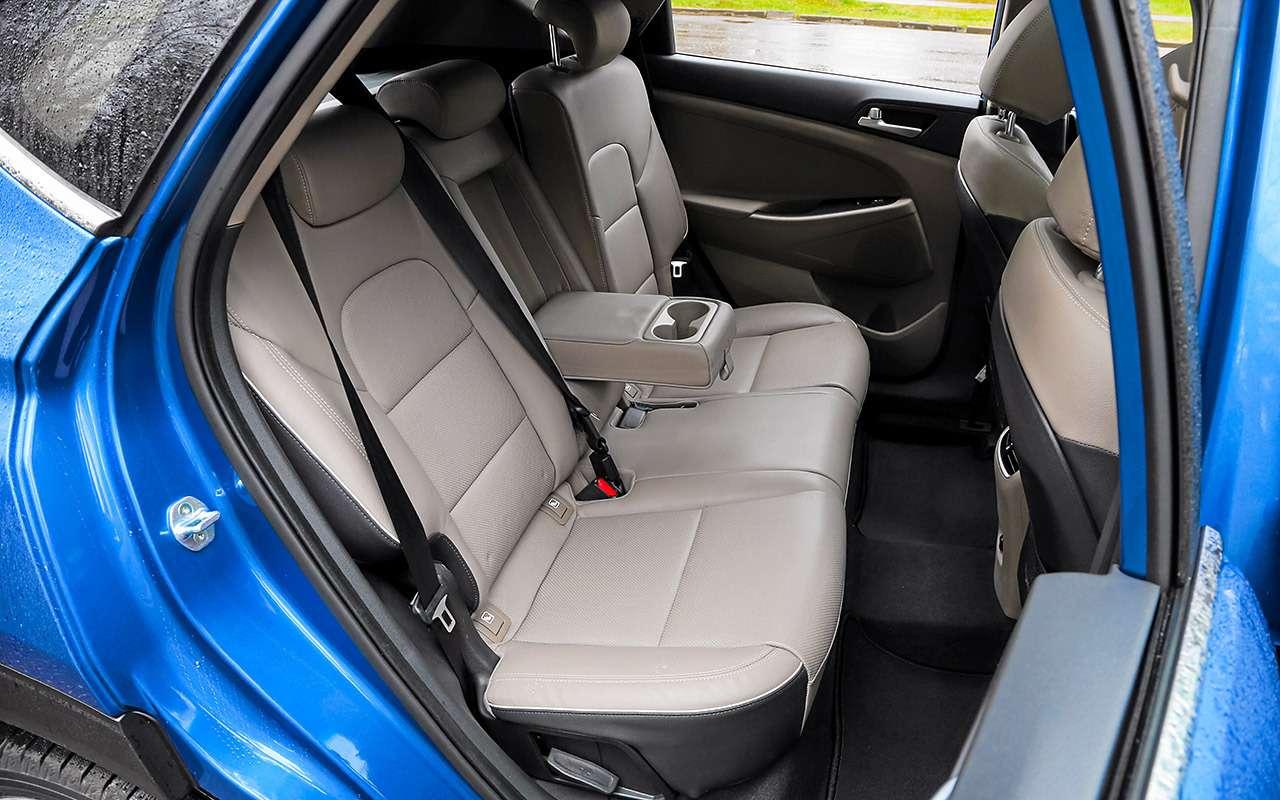 Новый Subaru Forester против конкурентов: большой тест кроссоверов— фото 935693