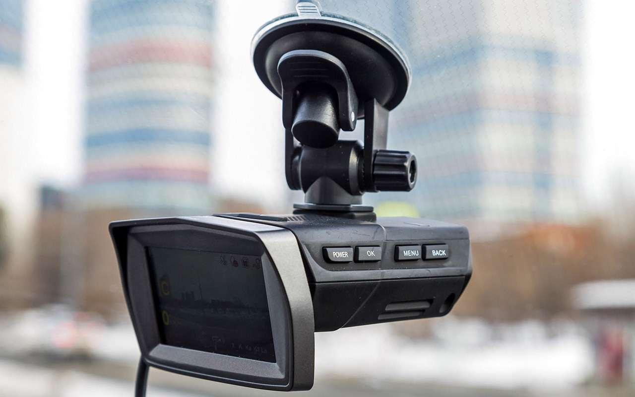 Видеорегистраторы срадар-детектором— бюджетные против дорогого— фото 862319
