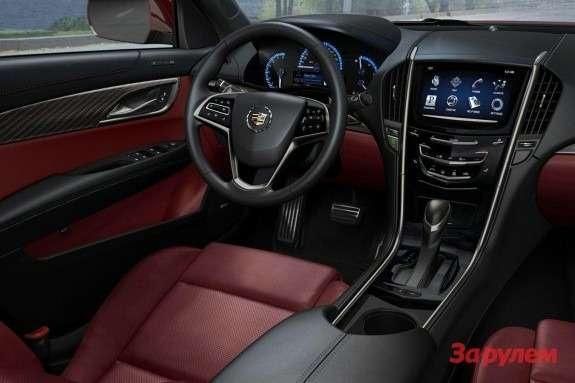 Cadillac ATS inside 3