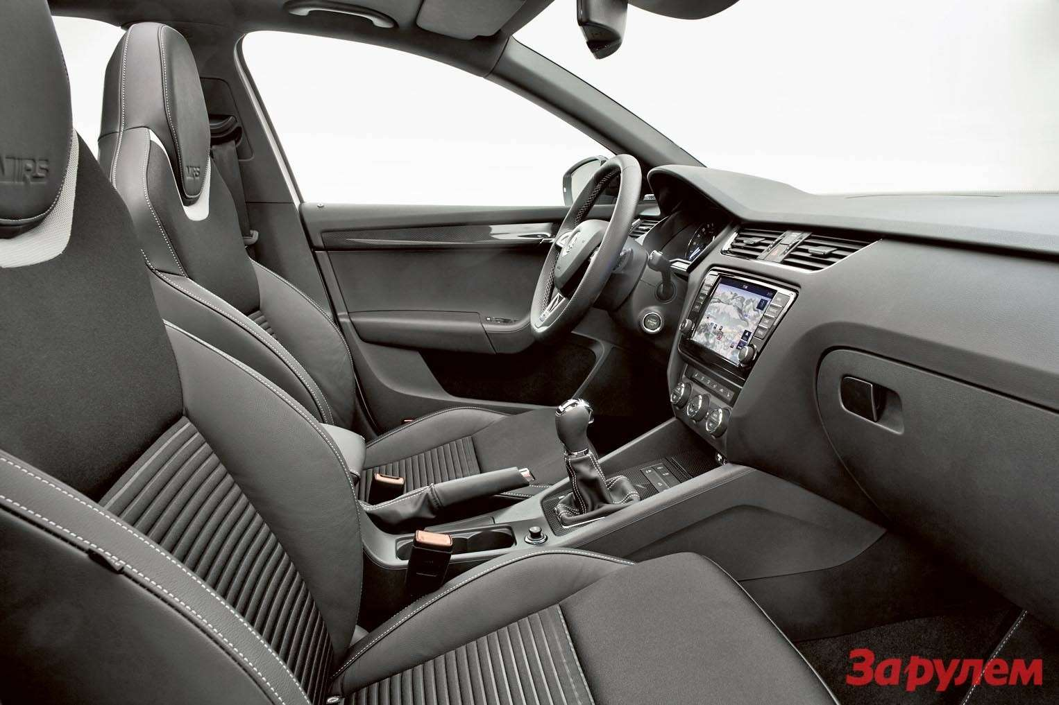 Octavia RS— Interior 001