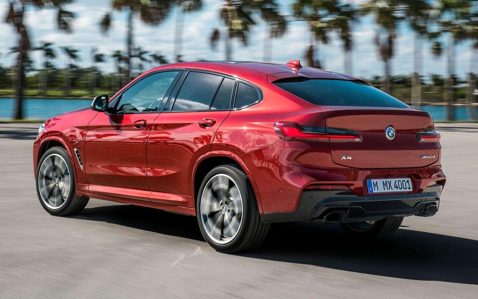 BMWобъявила цены нановый Х4в России— фото 853849