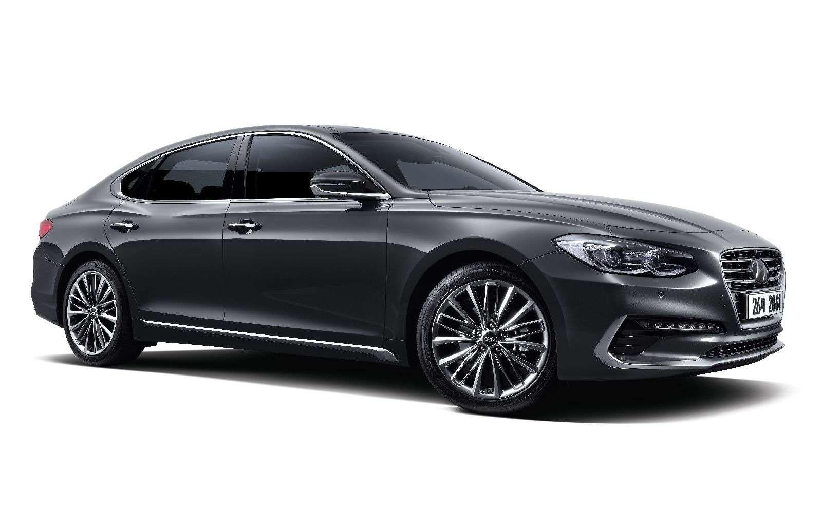 Hyundai может привезти вРоссию большой седан— фото 839184