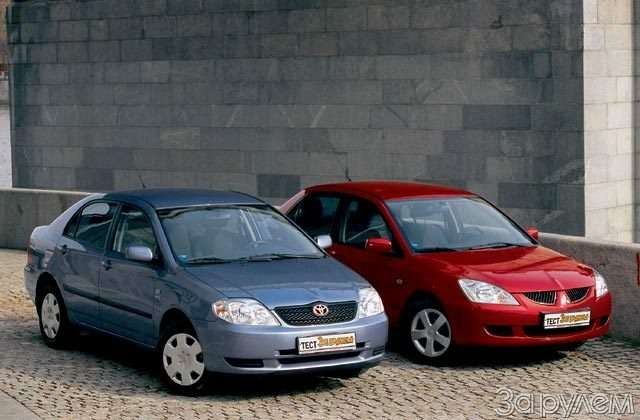 Парк ЗР: Toyota Corolla, Mitsubishi Lancer. Половина отмеренного— фото 59853