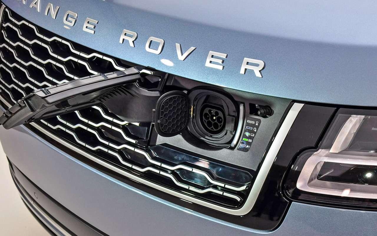 Range Rover 2018: 2,8л топлива насотню?! Быть того не может!— фото 820988