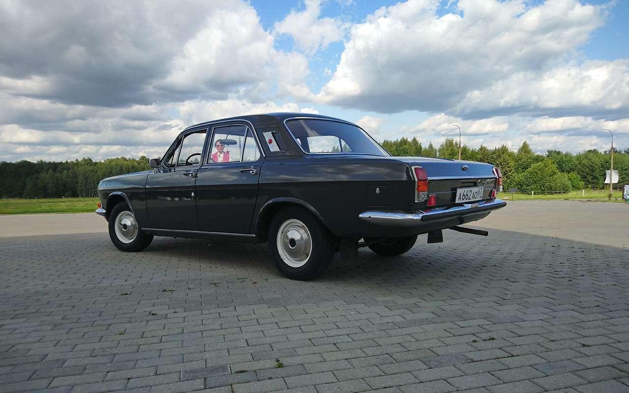 Ретротест символа 70-х: ГАЗ-24 Волга первой серии!— фото 999728