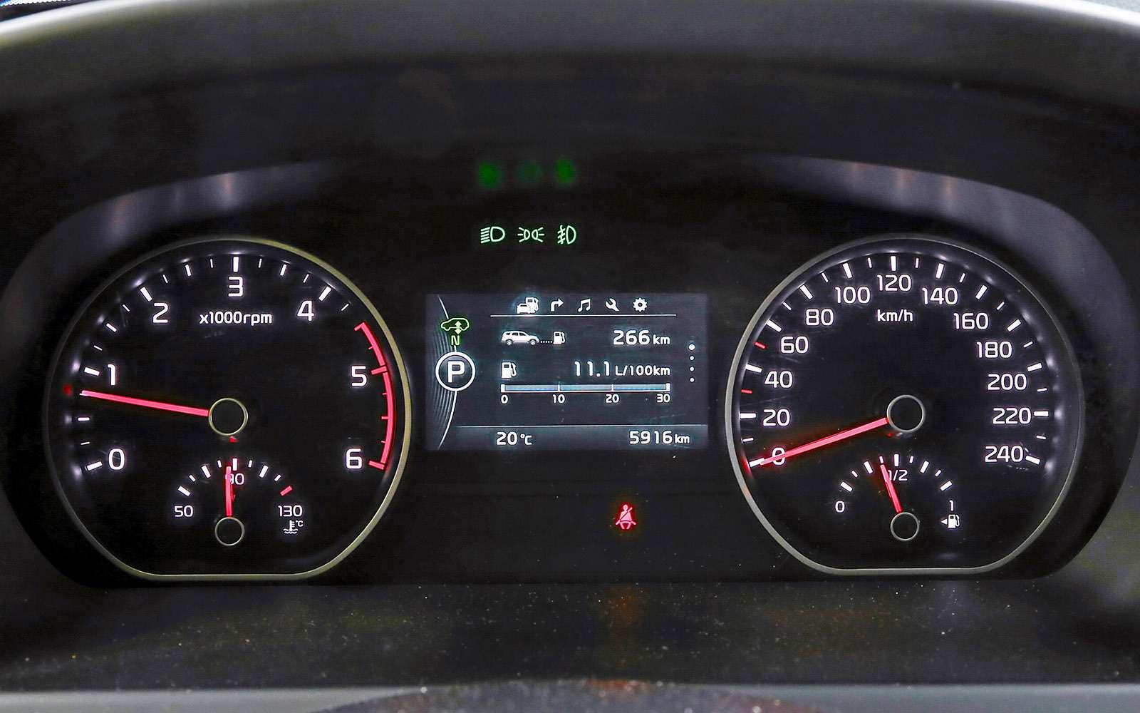 Mitsubishi Pajero Sport иKia Mohave— сравнительный тест настоящих внедорожников— фото 769886