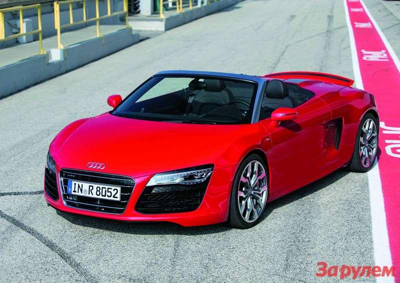 Audi R8V10 Spyder/Fahraufnahme
