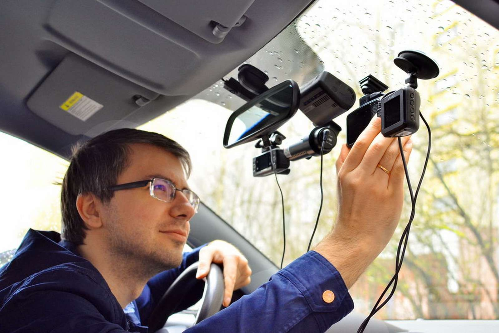 Смартфон или видеорегистратор— что использовать длясъемки? Тест ЗР— фото 916453