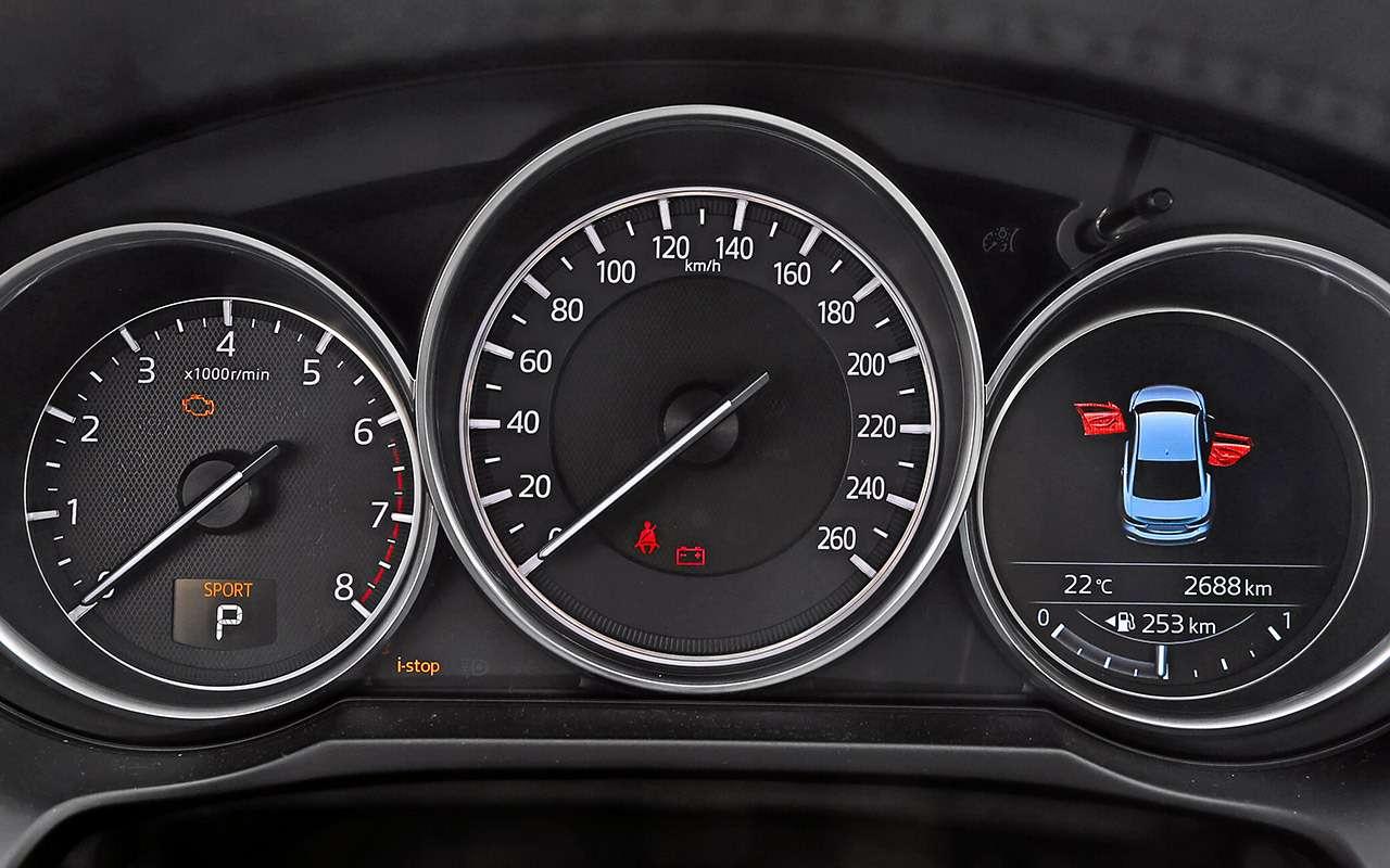Toyota Camry против конкурентов— сравнительный тест— фото 882427
