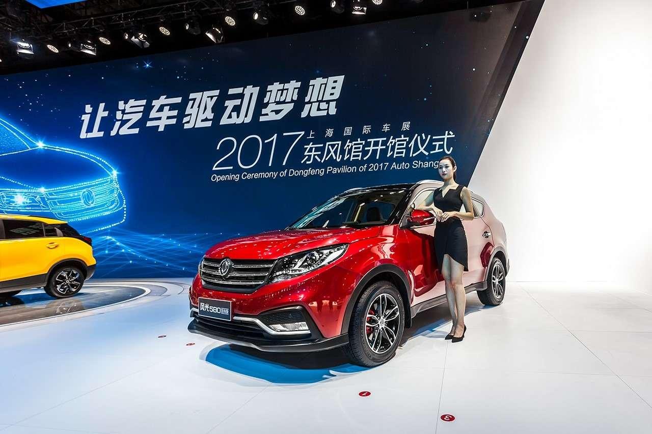 Dongfeng Motor привезет вРоссию семиместный кроссовер— фото 744011
