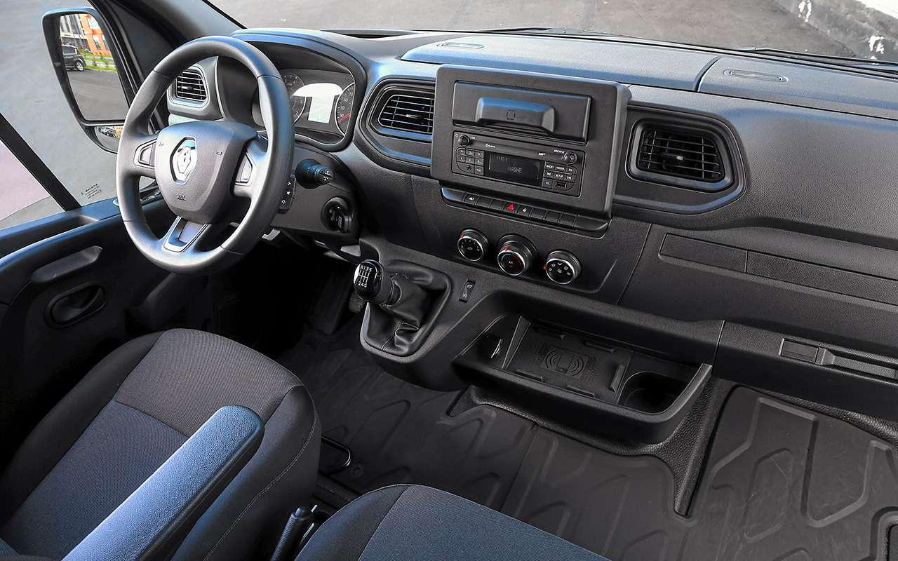 Обновленный Renault Master - тест для бизнесменов - фото 1164057