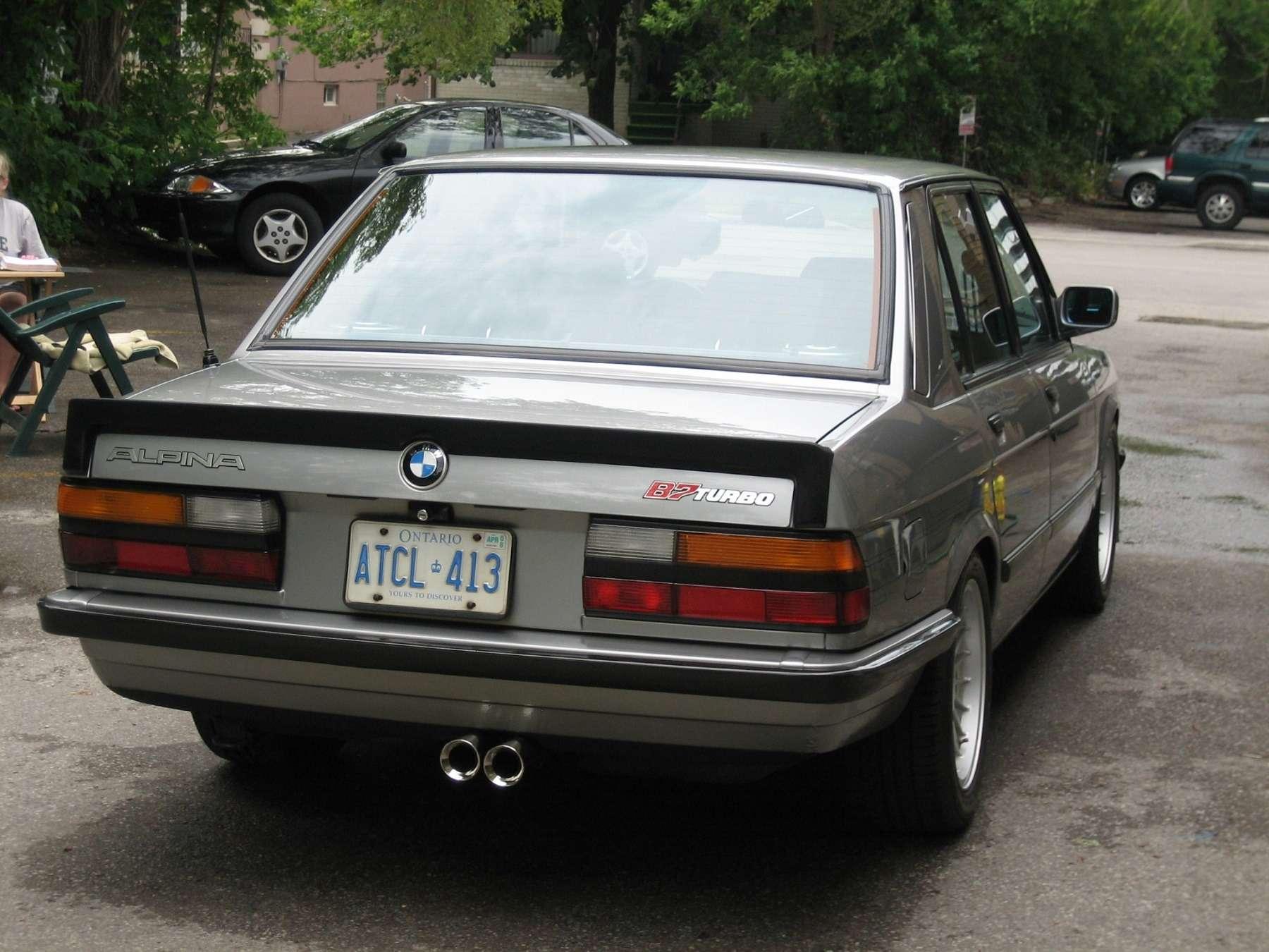 «Биммер» мечты: уникальная Alpina B7Turbo поцене нового BMW— фото 739728