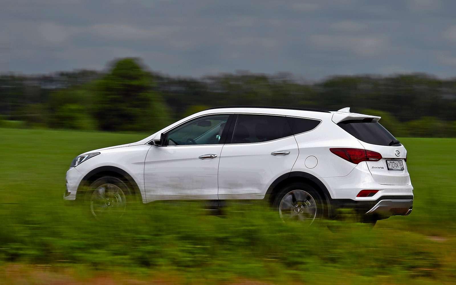 Новый Renault Koleos против конкурентов: буржуа, лесник иленивец— фото 780190