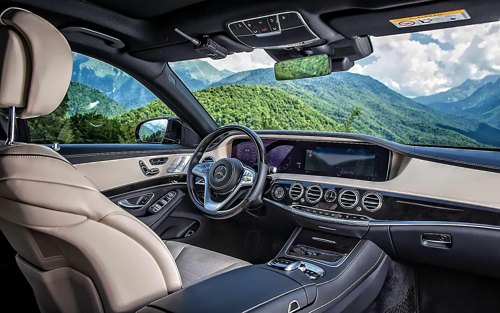 Mercedes-Benz S-класса: собновленным лицом иновыми моторами— фото 786208