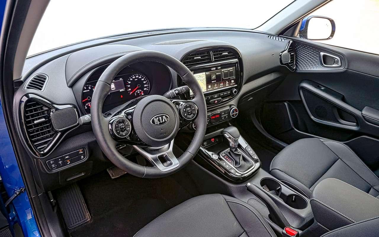 Большой тест стиляг: Toyota C-HR, Citroen C3Aircross иновый Kia Soul— фото 990487