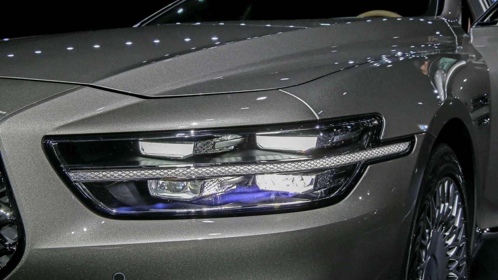 Genesis показал обновленный флагманский седан G90— фото 926557