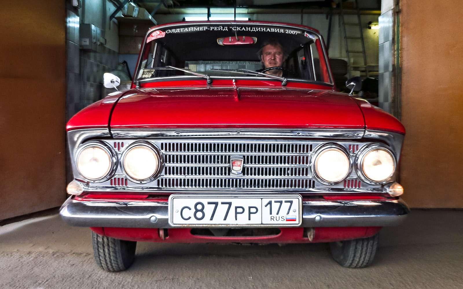 Среднее техническое: обслуживаем Москвич, как 40лет назад— фото 651566