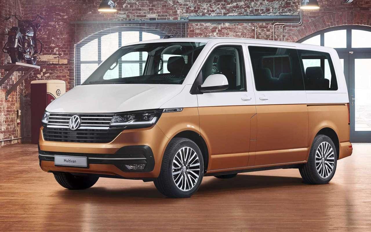 Обновленный Volkswagen Multivan— все изменения— фото 951555