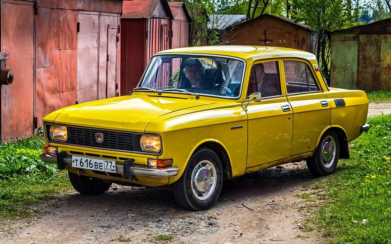 Машины нашего детства— ретротест Москвича-2140— фото 811232