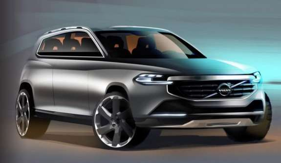New Volvo XC90 sketch 2