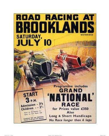Brooklands Poster