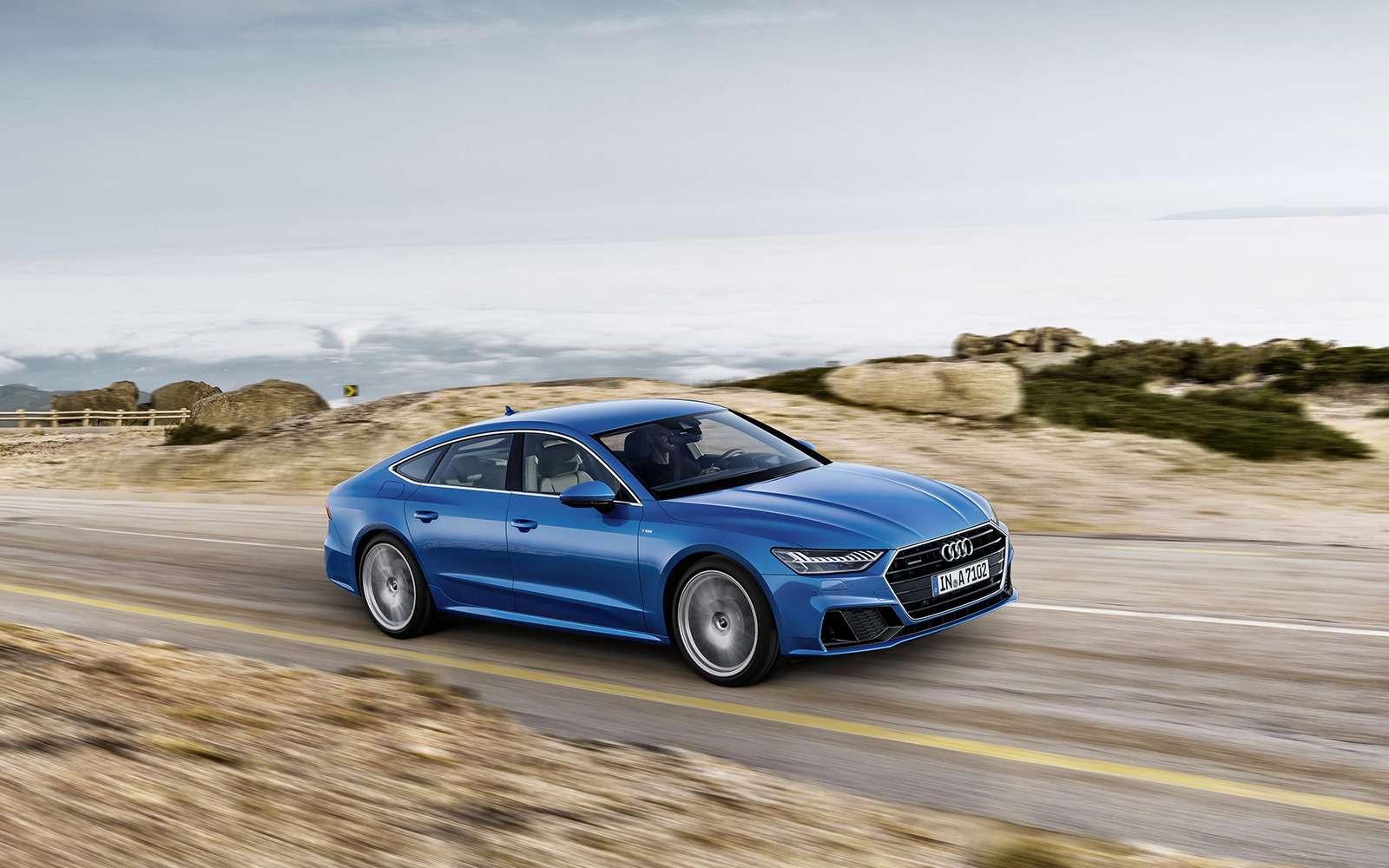 Новая Audi A7Sportback— вся насенсорах— фото 807141