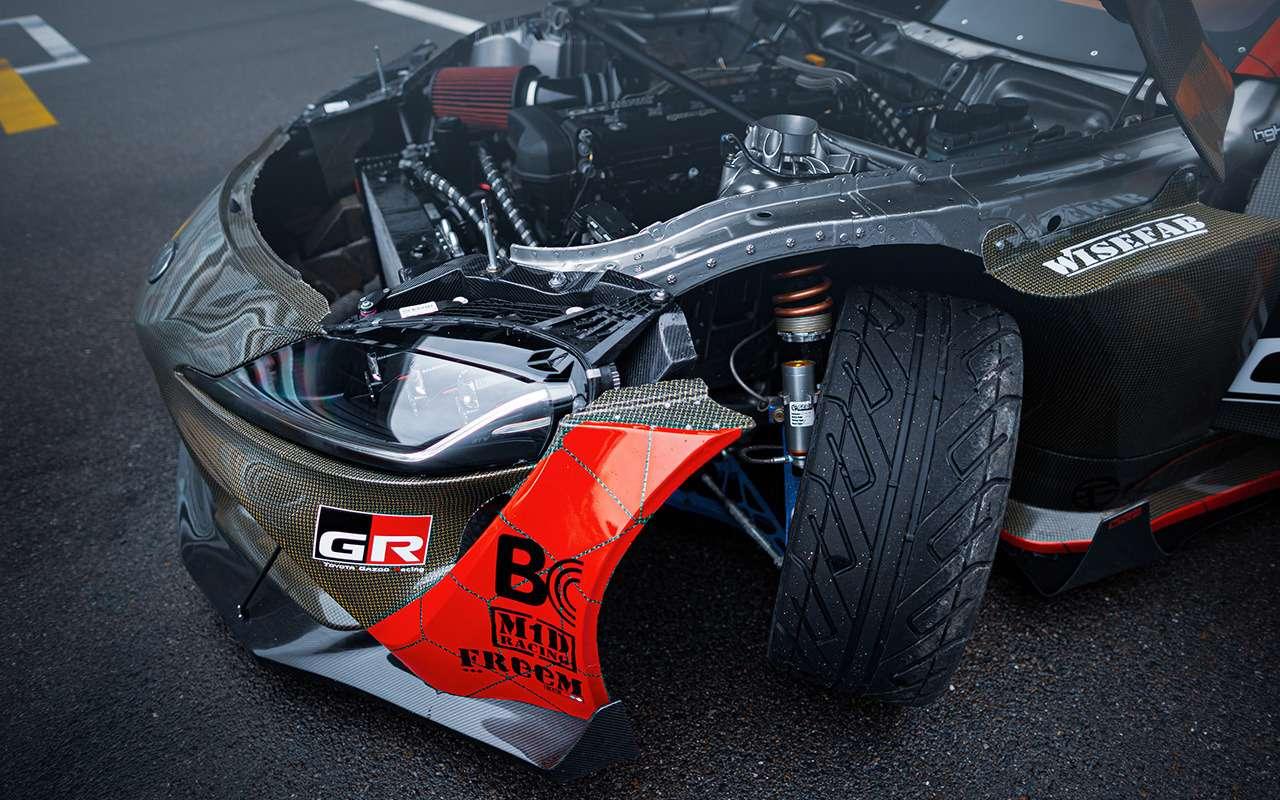 Toyota показала 1015-сильный спорткар Supra— фото 1217502