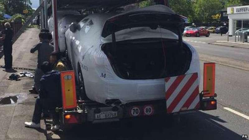 Нелегалы прятались вбагажниках Maserati