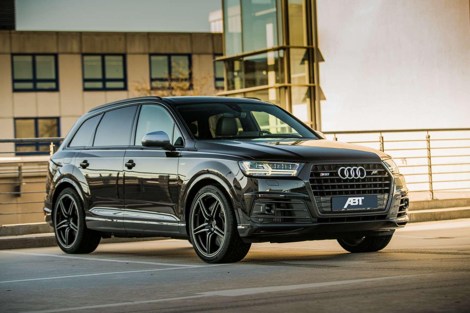 Тяги много не бывает: Audi SQ7TDI отABT Sportsline сдвинет континенты