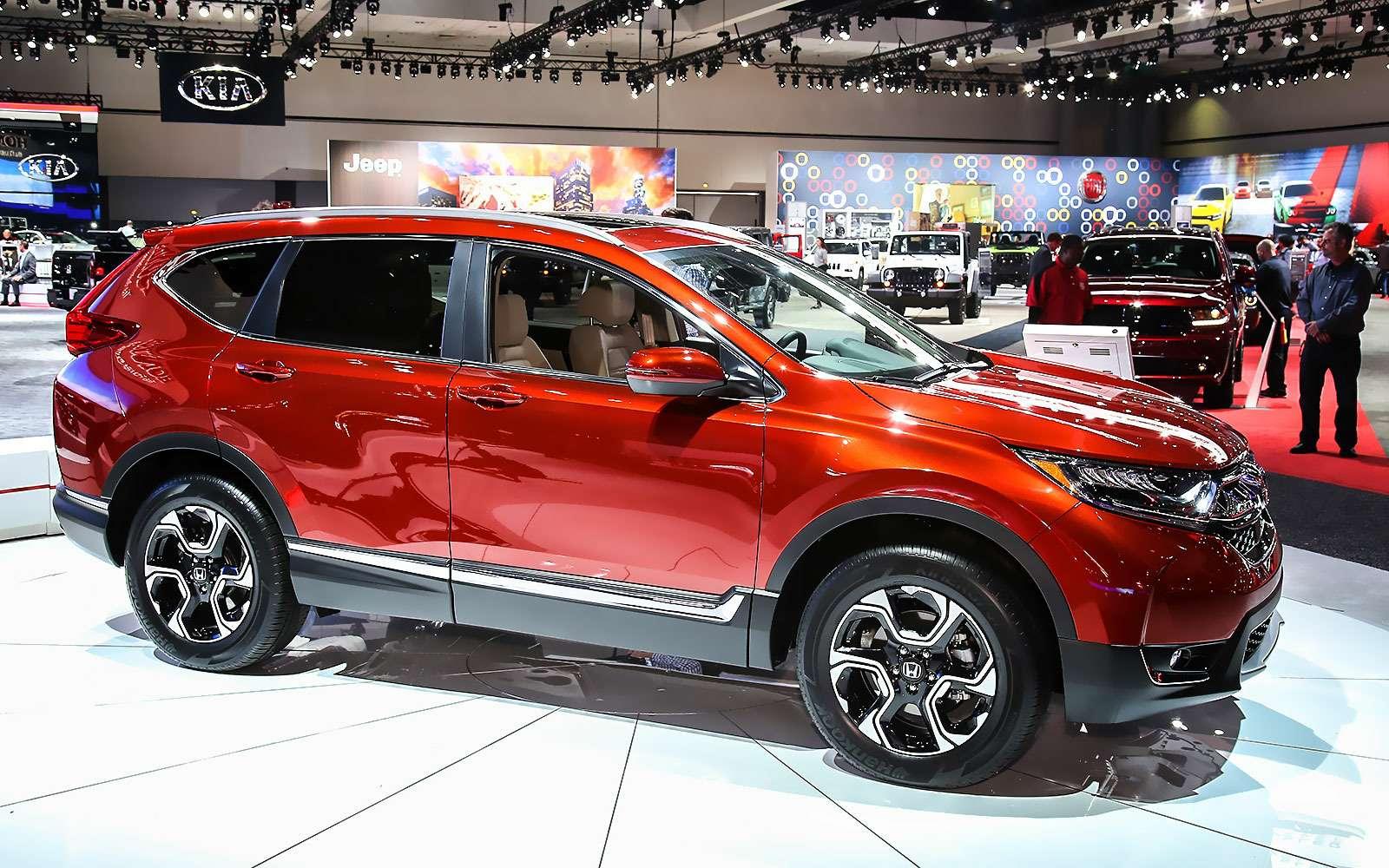 Пятый пошел: Honda представила кроссовер CR-V нового поколения— фото 665123