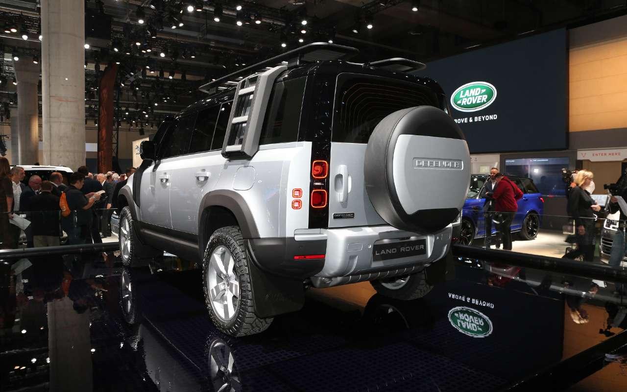 Новый Land Rover Defender иего 170 аксессуаров