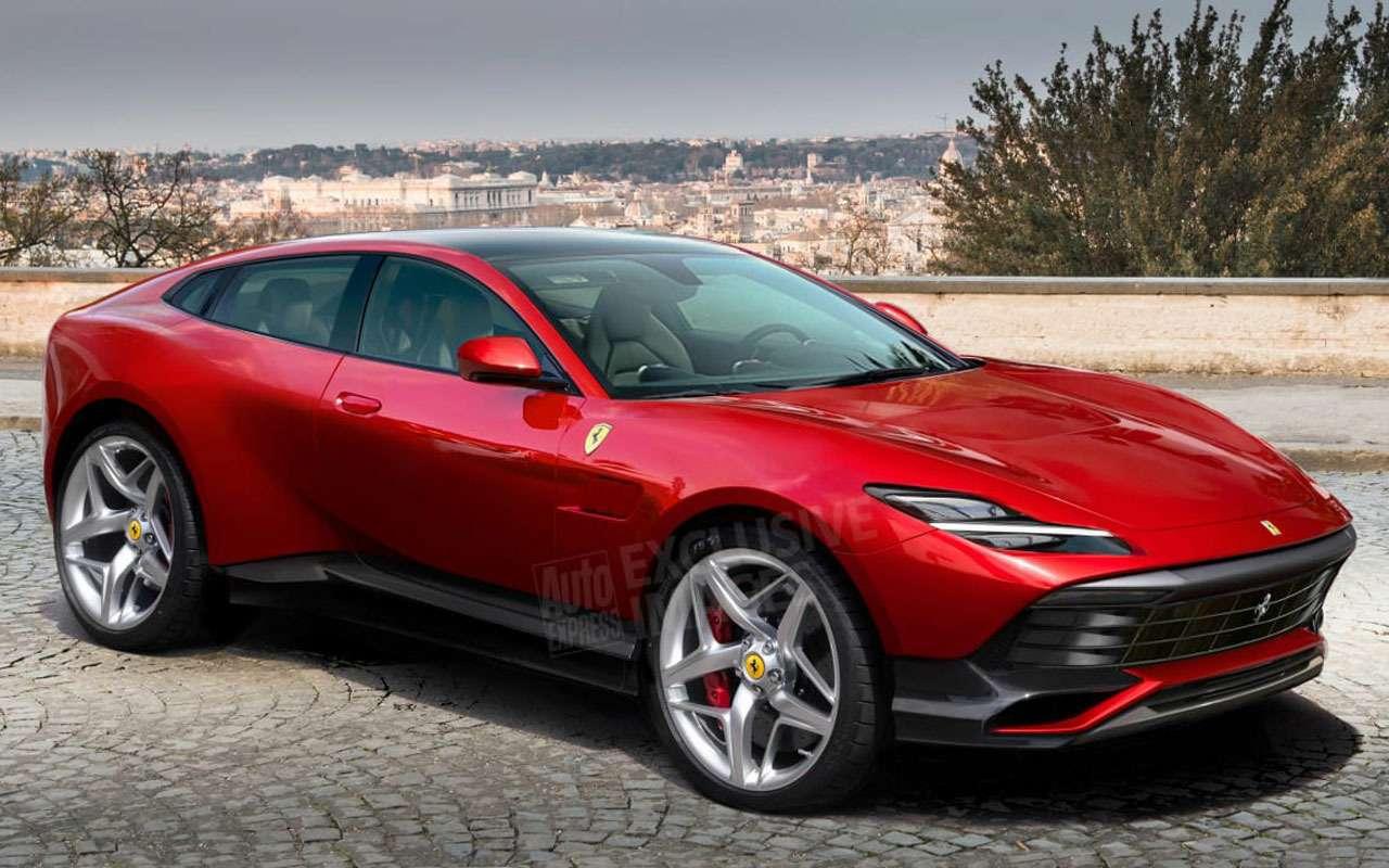 Первый кроссовер Ferrari Purosangue: дизайн, цена ихарактеристики— фото 1118727