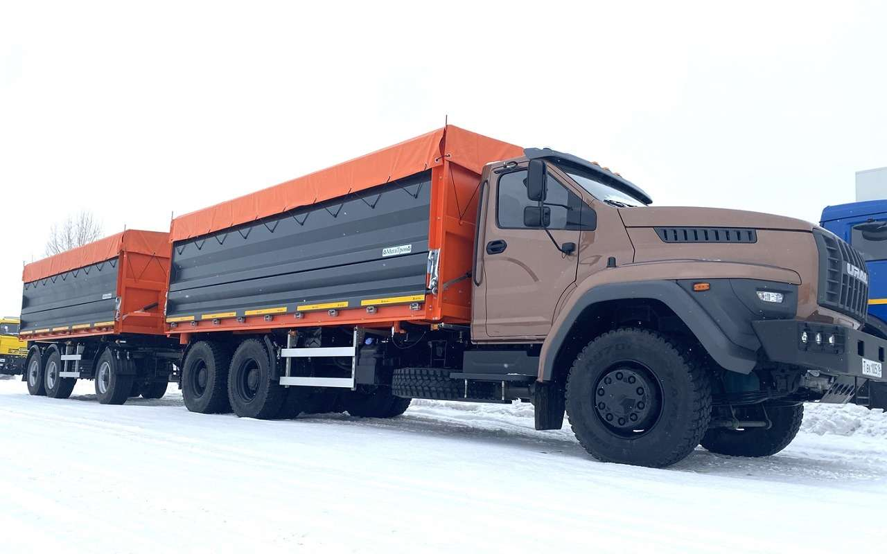 Суперсамосвал: разглядываем новую версию грузовика Урал— фото 1241588