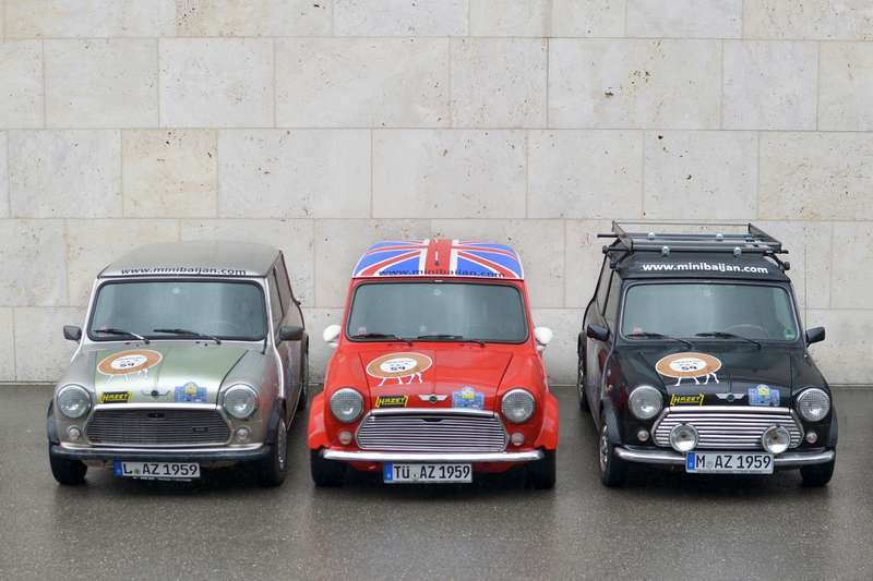 Classic Mini — Team 59 Minibaijan (04.2012)