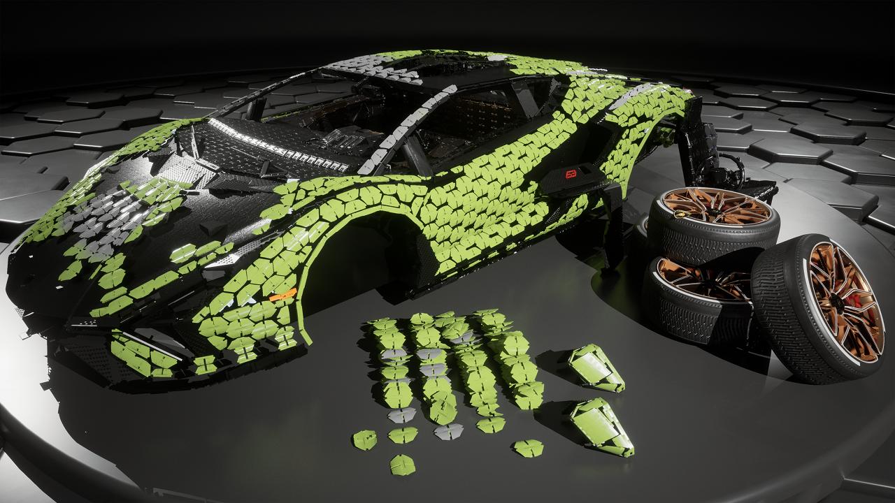 В Lamborghini построили гиперкар изконструктора Lego— фото 1252612