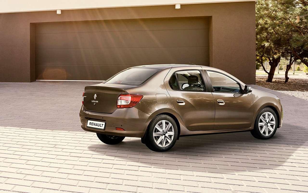 Renault рассказала обобновленных Logan иSandero. Цены уже известны— фото 886063