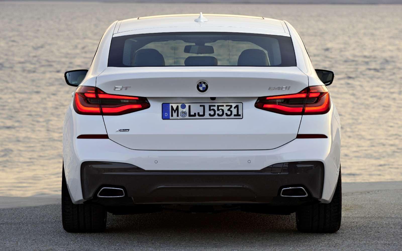 Новый лифтбек BMW 6-й серии Gran Turismo— лучше, чем «сарай»!— фото 764547