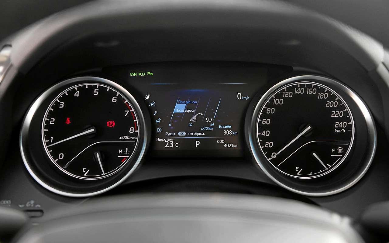 5 плюсов иодин минус седана Toyota Camry— фото 878713