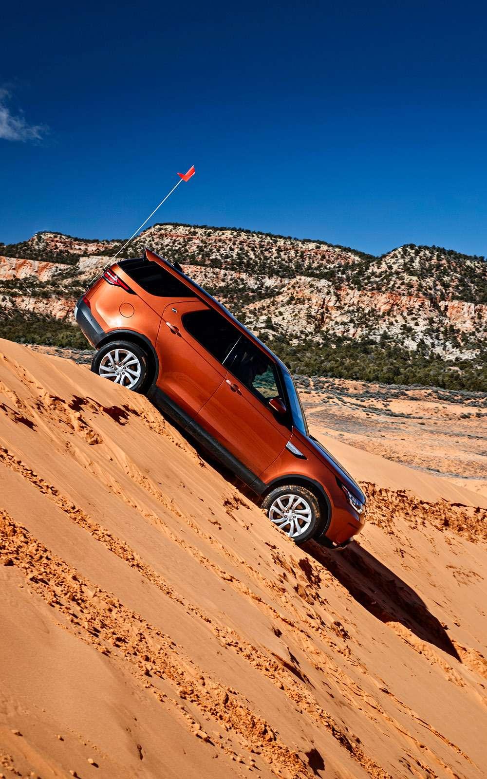 Новый Land Rover Discovery: первый тест— фото 736871