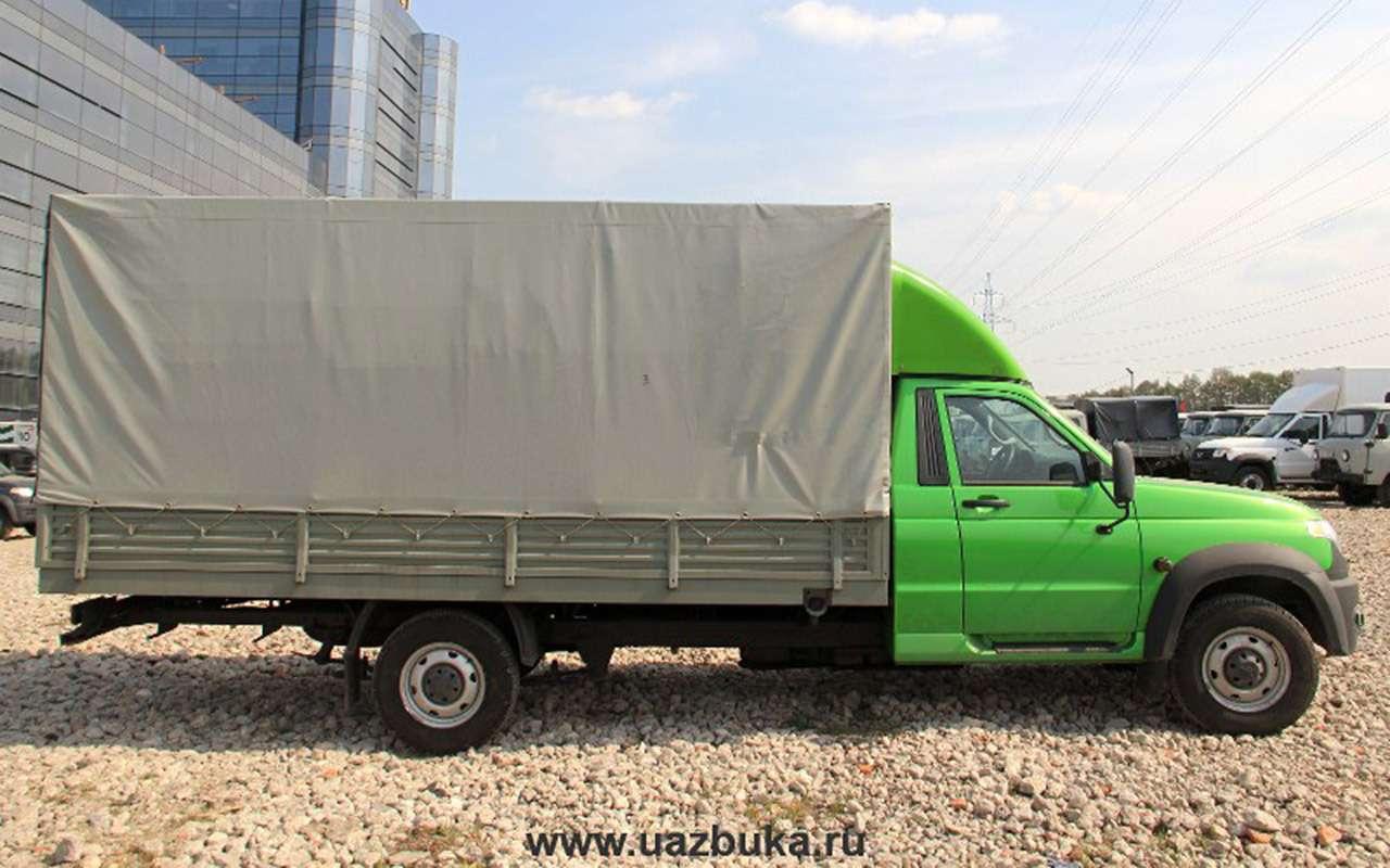УАЗготовит новую версию грузовика Профи— фото 974552