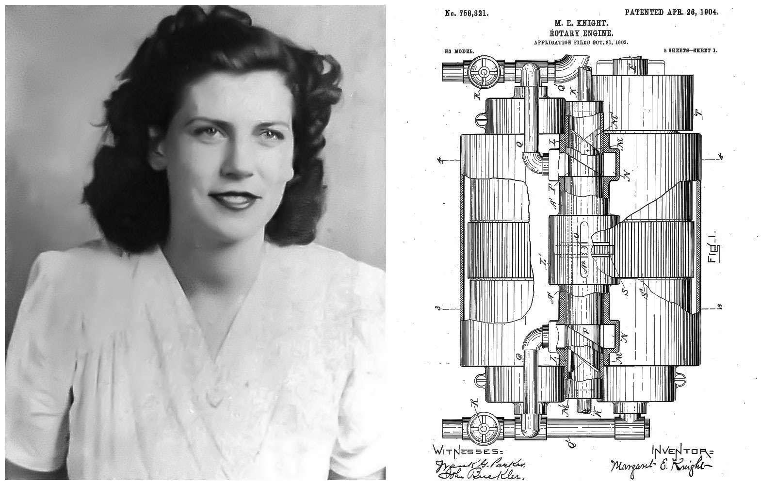 Роторный двигатель Маргарет Найт