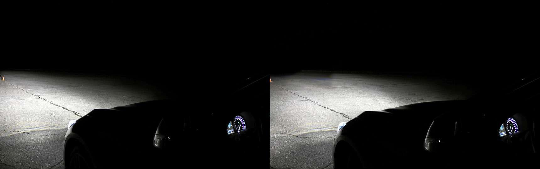 Супертест светодиодных фар: какая из10машин заглянет дальше?— фото 601199