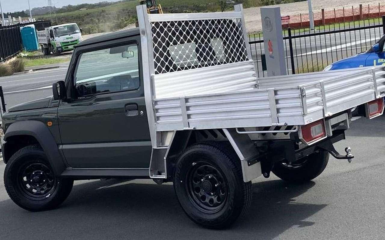 Suzuki Jimny превратили впикап— фото 1093152
