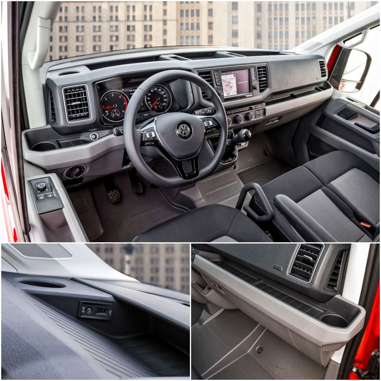 Volkswagen Crafter— тест поднагрузкой— фото 975597