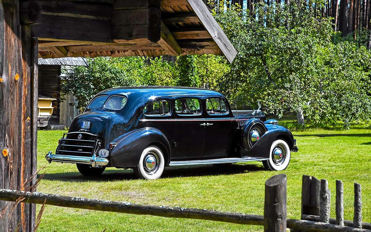Packard Super Eight 1939: связей сэтим иностранцем можно небояться!— фото 893697