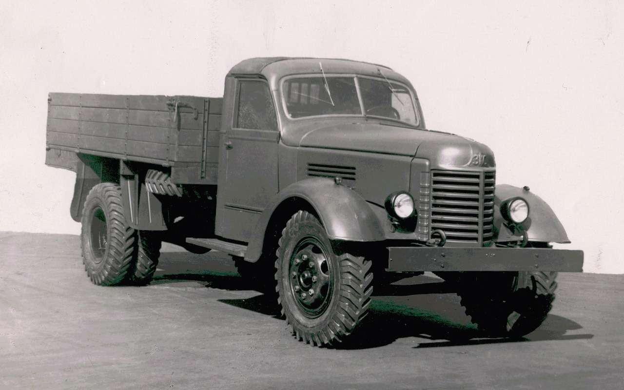 Мотор V12с автоматом— были итакие грузовики вСССР!— фото 1033950
